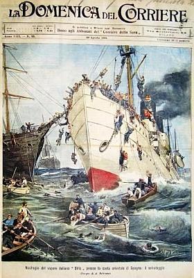 naufragio sirio